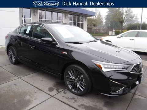 New 2019 Acura ILX with Premium and A-Spec Packages 4D Sedan