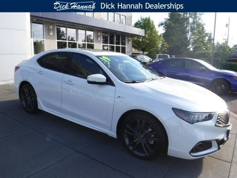 New 2019 Acura TLX 3.5 V-6 9-AT P-AWS with A-SPEC With Navigation