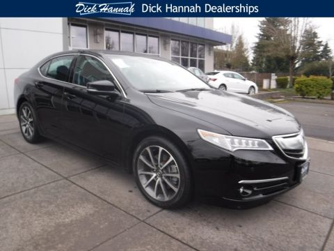Pre-Owned 2015 Acura TLX 3.5L V6 4D Sedan