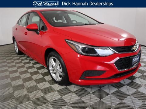 Pre-Owned 2018 Chevrolet Cruze LT 4D Sedan