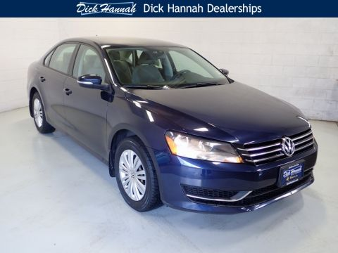Pre-Owned 2015 Volkswagen Passat 1.8T S 4D Sedan
