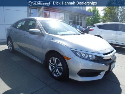 Pre-Owned 2016 Honda Civic LX 4D Sedan
