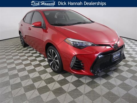 Pre-Owned 2017 Toyota Corolla SE 4D Sedan