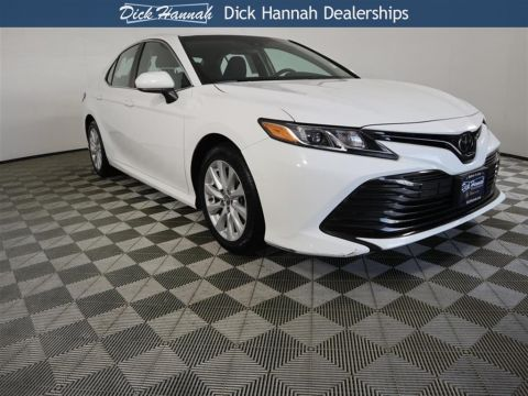 Pre-Owned 2018 Toyota Camry LE 4D Sedan