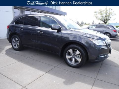 Pre-Owned 2016 Acura MDX 3.5L 4D Sport Utility