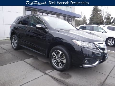 Certified Pre-Owned 2017 Acura RDX AWD with Advance Package 4D Sport Utility