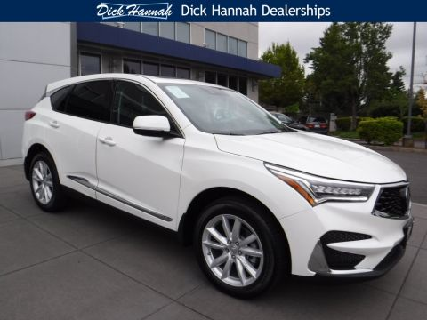 New Acura Rdx In Portland Dick Hannah Acura Of Portland