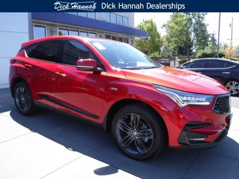New 2019 Acura RDX SH-AWD with A-Spec Package 4D Sport Utility