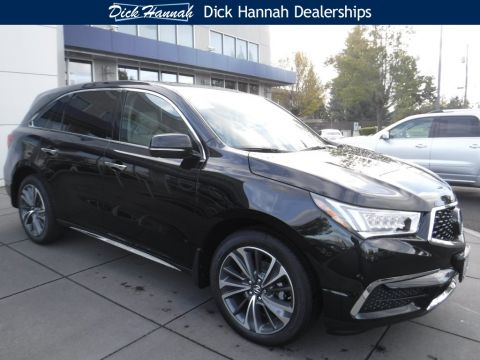 New 2019 Acura MDX SH-AWD with Technology Package With Navigation