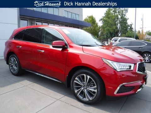 New 2019 Acura MDX AWD TECH 6P ENTERTAINMENT With Navigation