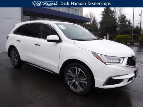 New 2019 Acura MDX SH-AWD with Technology and Entertainment Packages With Navigation