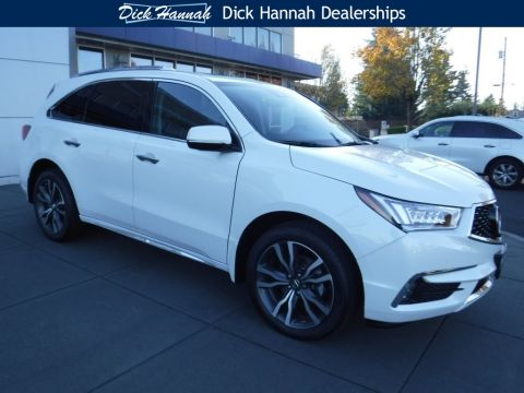 New 2019 Acura MDX SH-AWD with Advance Package With Navigation
