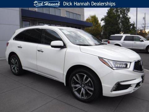 New 2019 Acura MDX SH-AWD with Advance and Entertainment Packages With Navigation