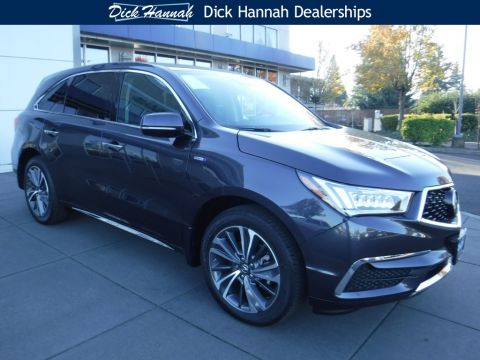 New 2019 Acura MDX  Sport Hybrid SH-AWD with Technology Package 4D Sport Utility