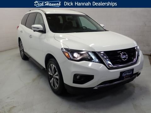 Pre-Owned 2017 Nissan Pathfinder SL 4D Sport Utility