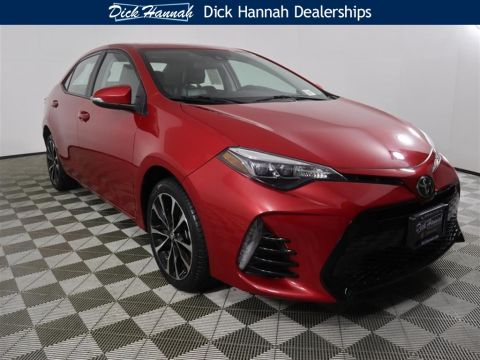 Pre-Owned 2017 Toyota Corolla XSE 4D Sedan