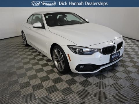 Pre-Owned 2018 BMW 4 Series 430i 2D Convertible