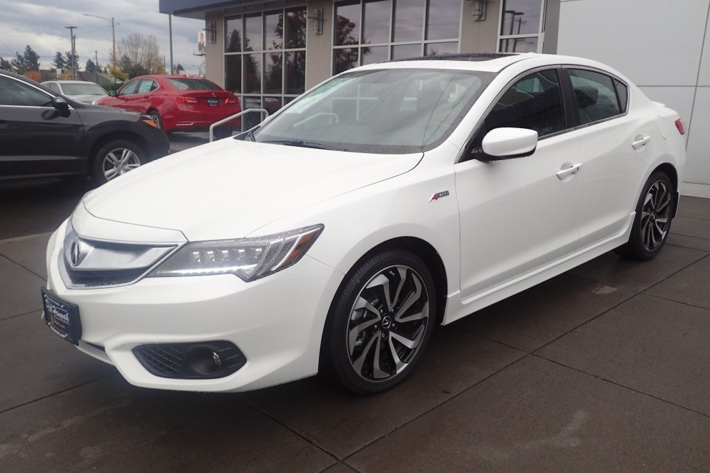 new 2018 acura ilx with premium and a spec package 4d sedan in portland a18160 dick hannah. Black Bedroom Furniture Sets. Home Design Ideas