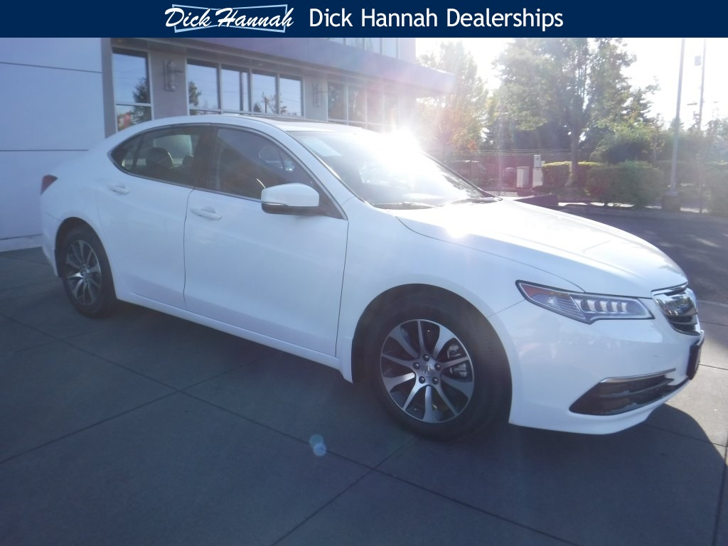 PreOwned Acura TLX L D Sedan In Portland P Dick - Pre own acura