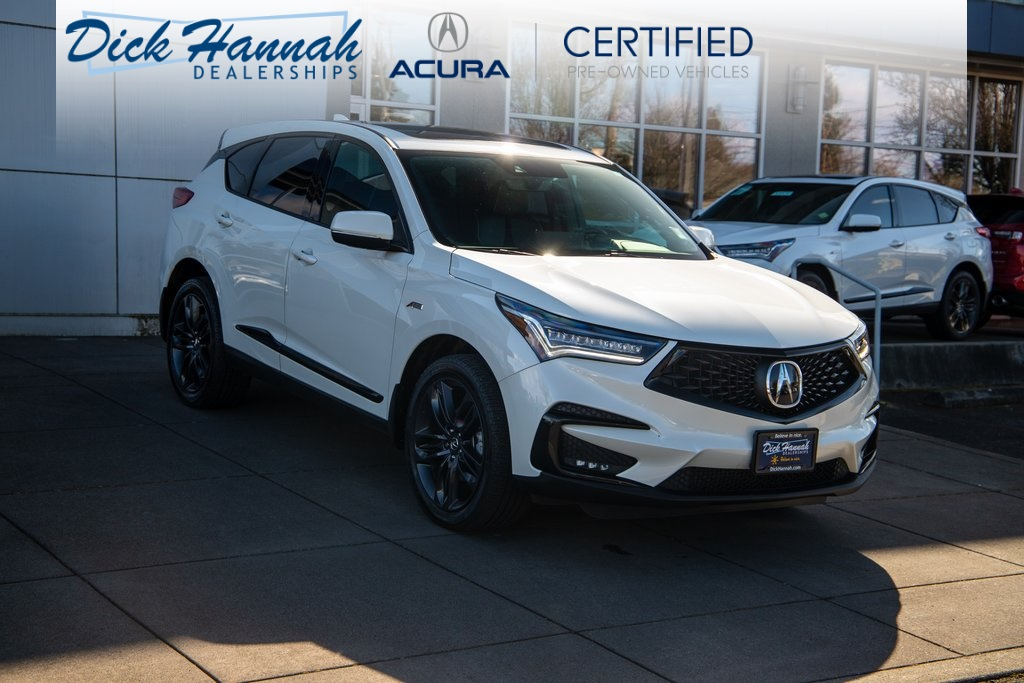 Certified Pre-Owned 2019 Acura RDX SH-AWD with A-Spec Package