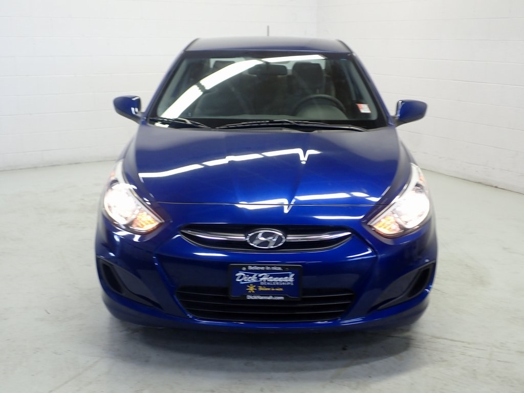 Pre Owned 2015 Hyundai Accent Gls 4d Sedan In Portland 402349t Engine