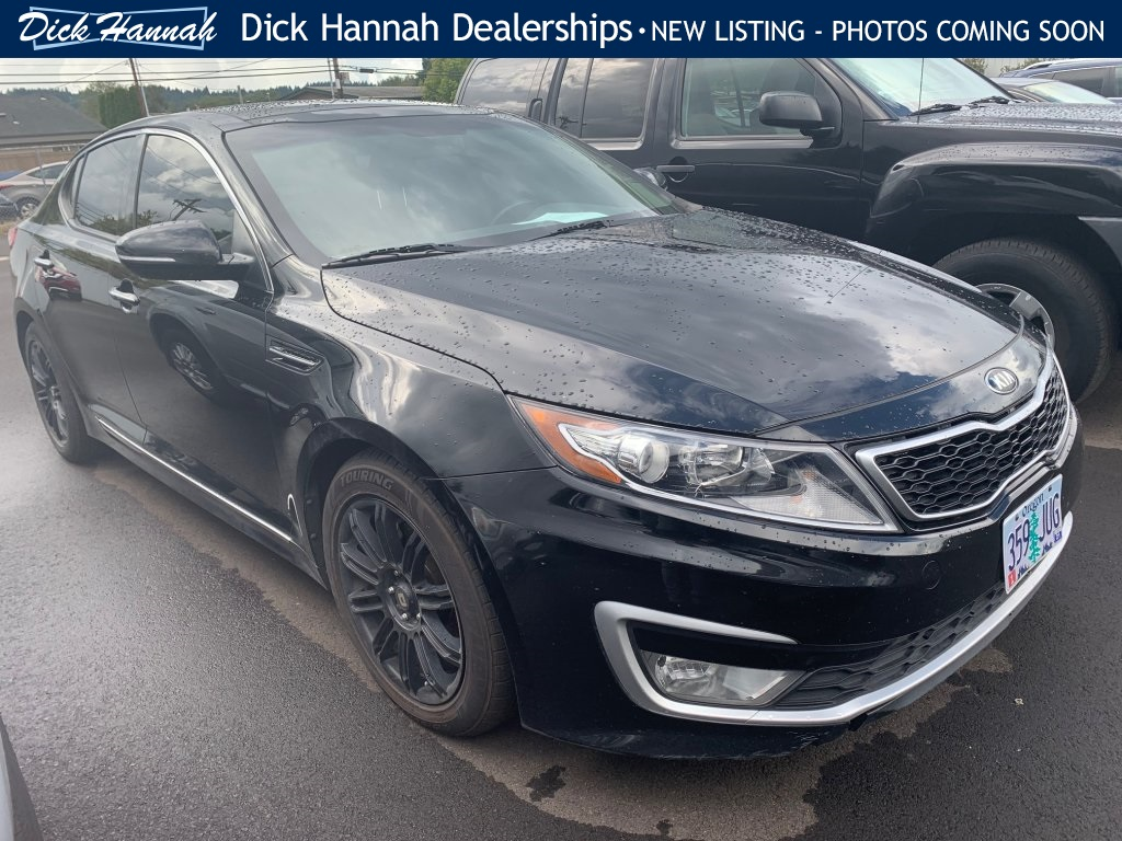 Pre-Owned 2012 Kia Optima Hybrid EX