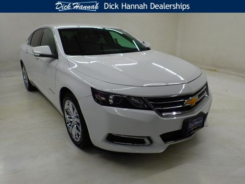 Pre-Owned 2017 Chevrolet Impala LT 4D Sedan