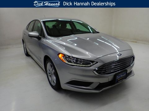 Pre-Owned 2018 Ford Fusion Hybrid SE 4D Sedan
