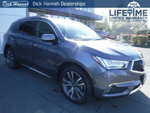 New 2020 Acura MDX SH-AWD with Advance and Entertainment Packages With Navigation